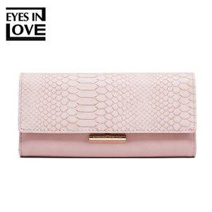 Handbags - lady purse with crocodile color pink
